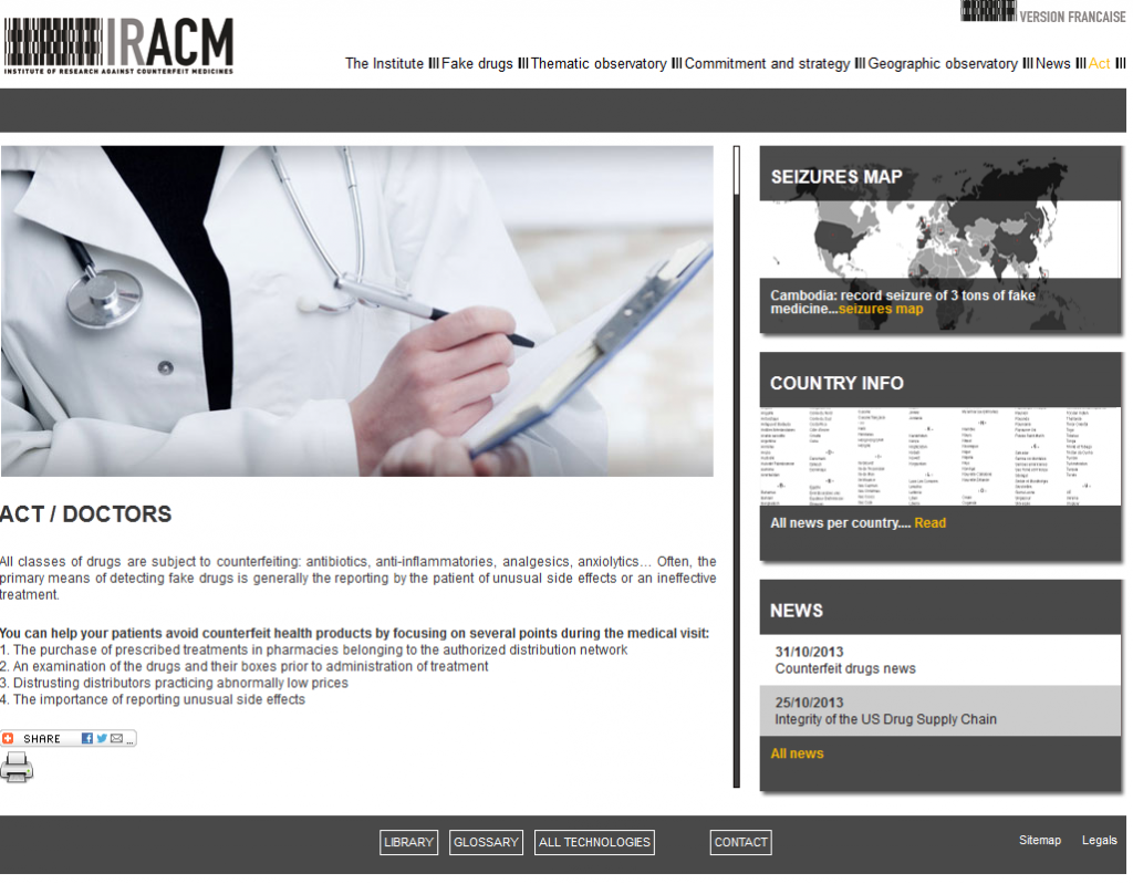 IRACM – ACT: If you are a doctor