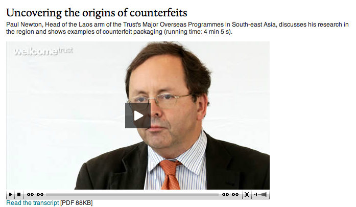 Uncovering the Origins of Counterfeits