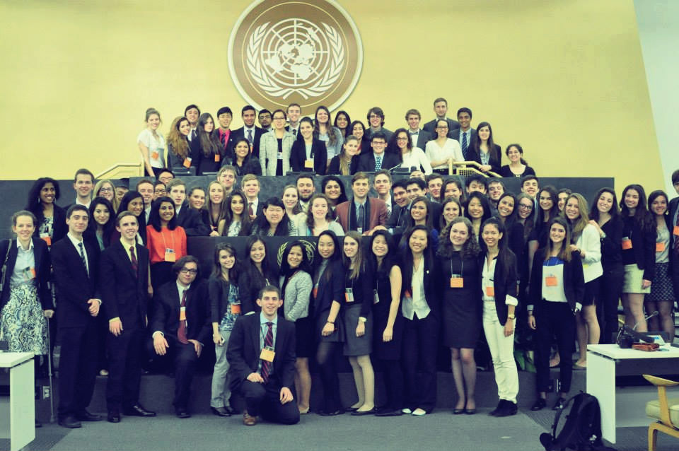 Model United Nations Delegates Tackle Fake Medicines