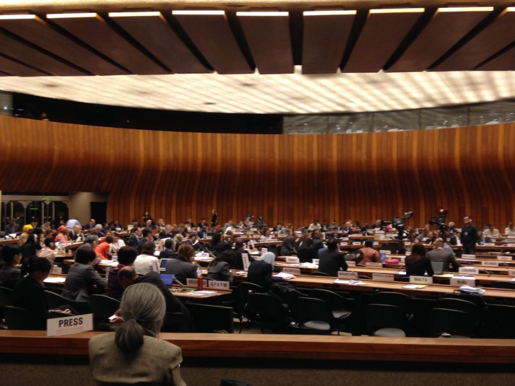 IFPMA and FIP deliver statements at 68th World Health Assembly
