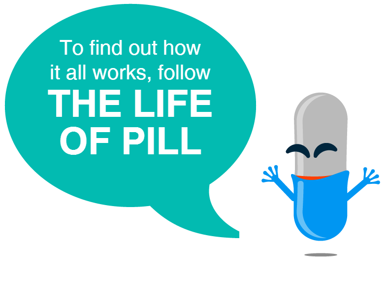 """The Life of a Pill"""