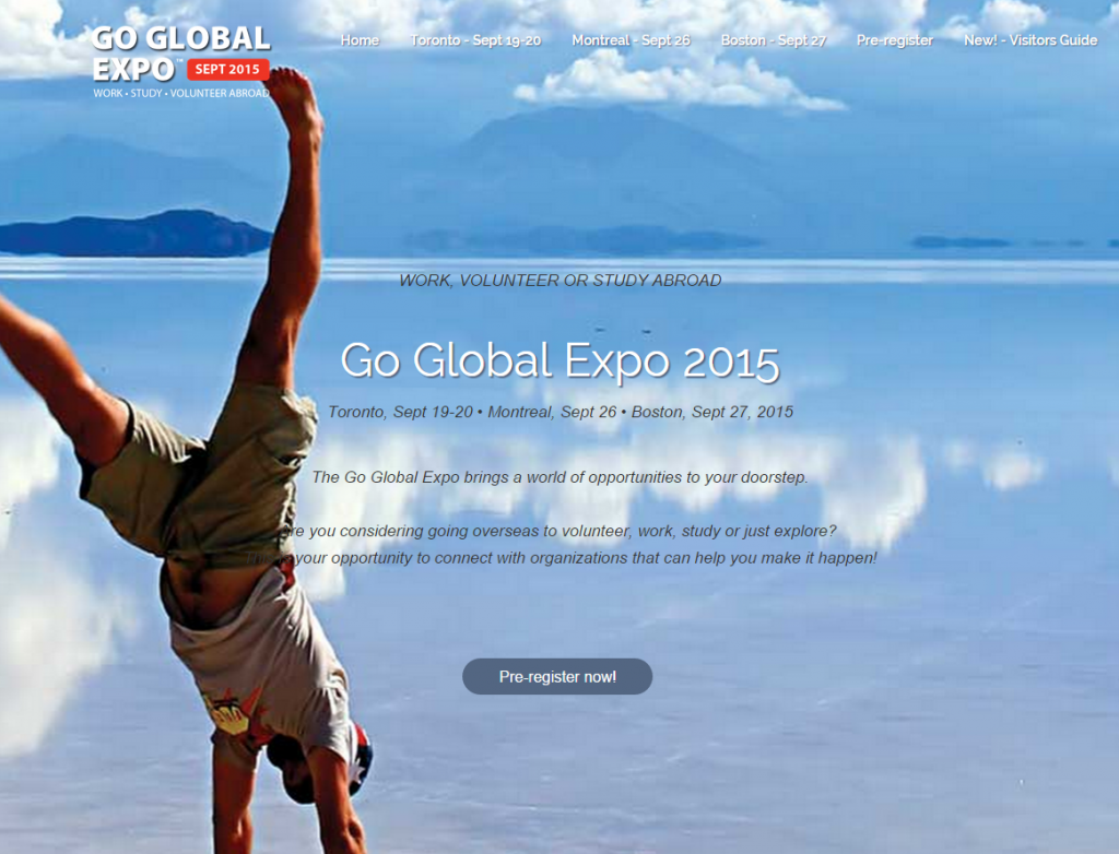Off to Go Global Expo 2015