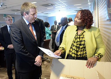 GPHF donates Minilab to the Botswana Ministry of Health!