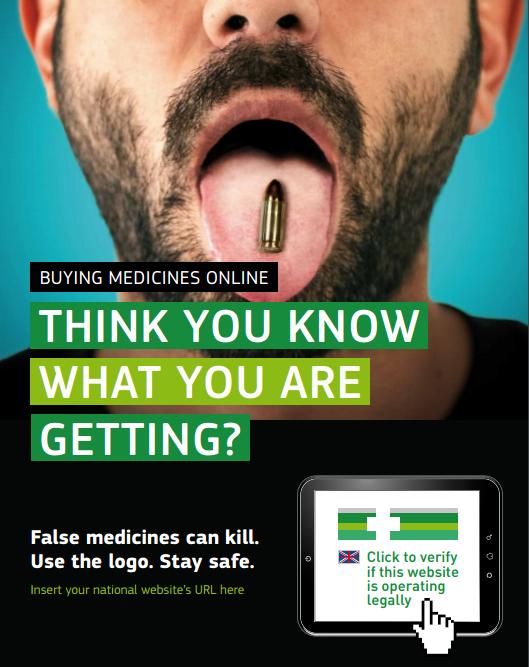 EU logo spots illegal pharmacies online