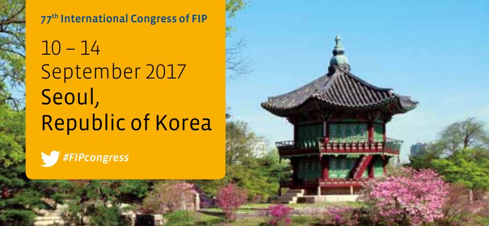 77th International Congress of FIP in Seoul, Korea