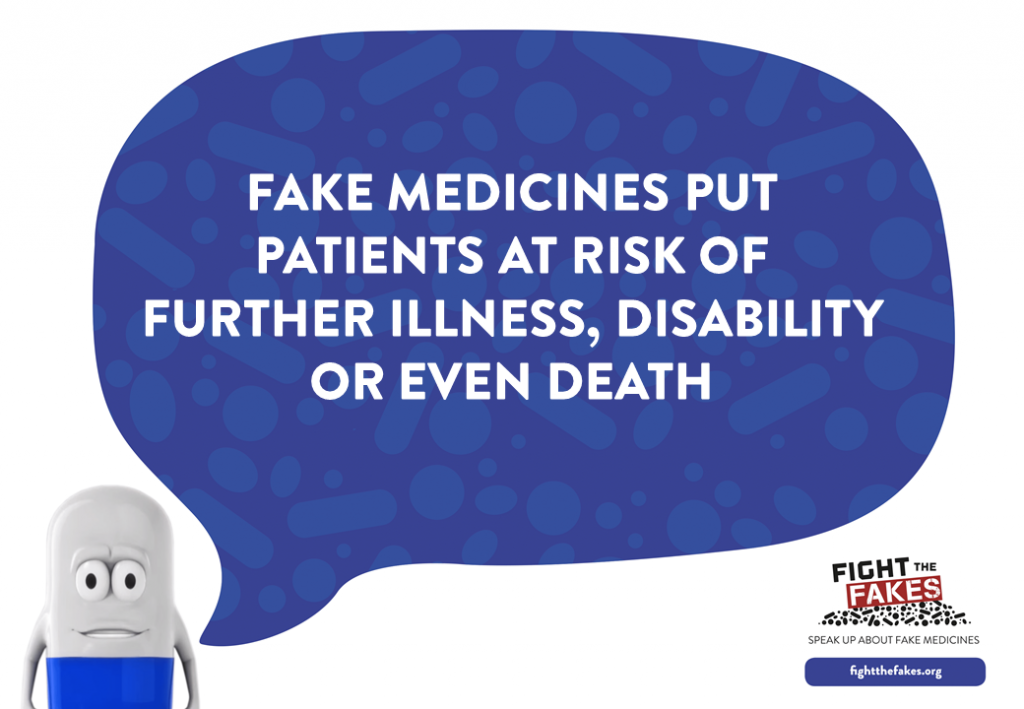 What it means to fall victim to falsified medicines