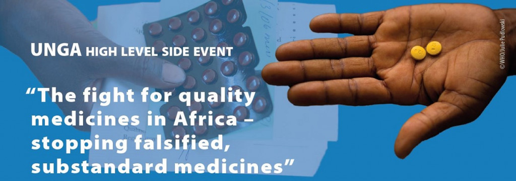 UNGA 2018: Concrete examples of fighting fake medicines in Africa