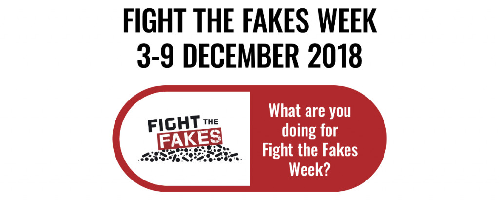 Join the Fight the Fakes Week between 3-9 December and celebrate #PSD2018 on 7 December