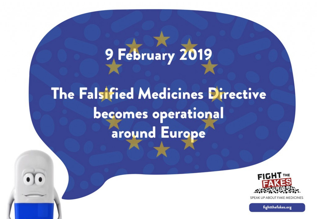 The EU Falsified Medicines Directive  – improving patient safety and fighting #fakemeds in Europe!