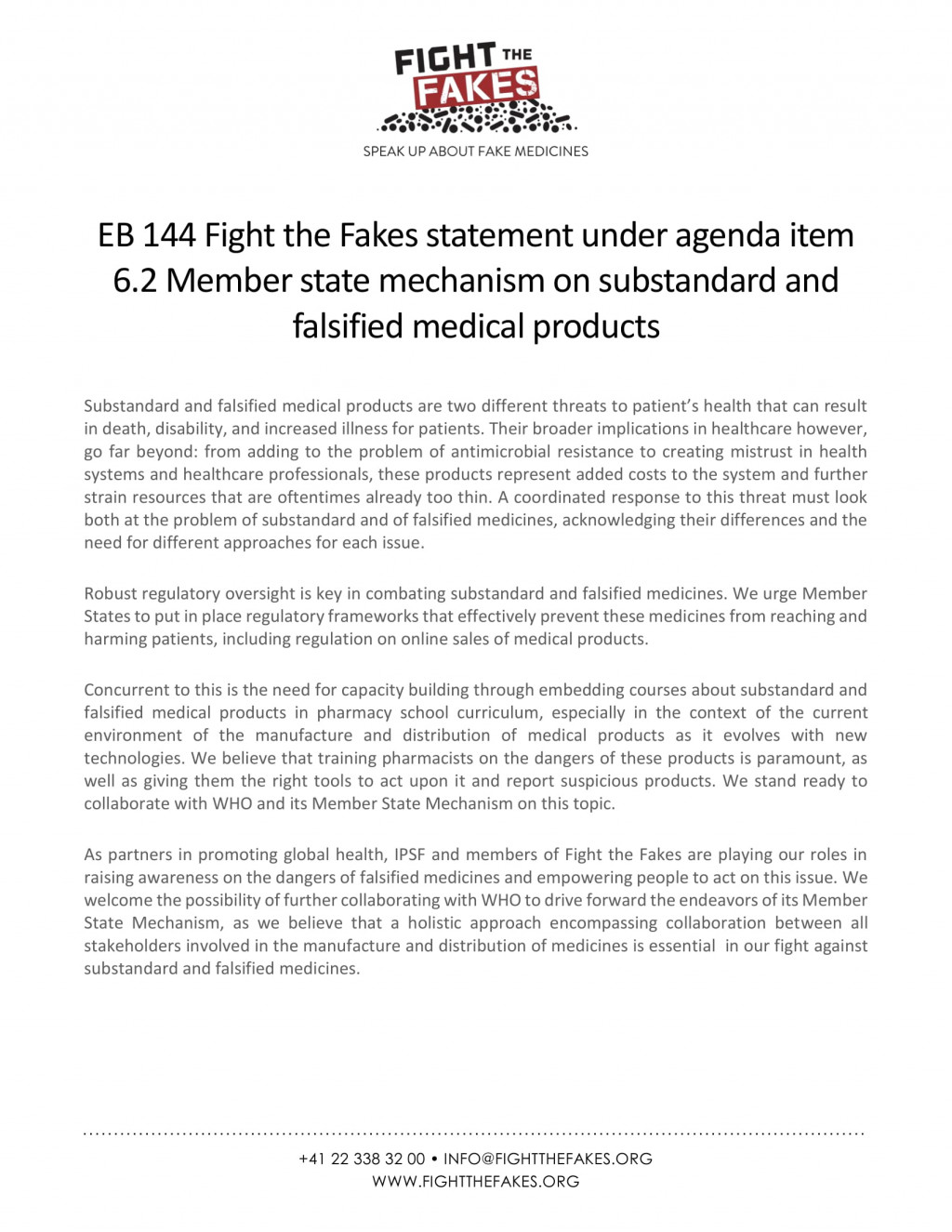 EB144-Fight-the-Fakes-statement-under-agenda-item-6.2_30.01.2019-1