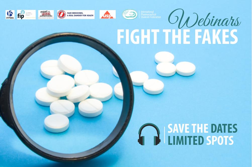IPSF is organizing four #fakemeds webinars, 19-22 February