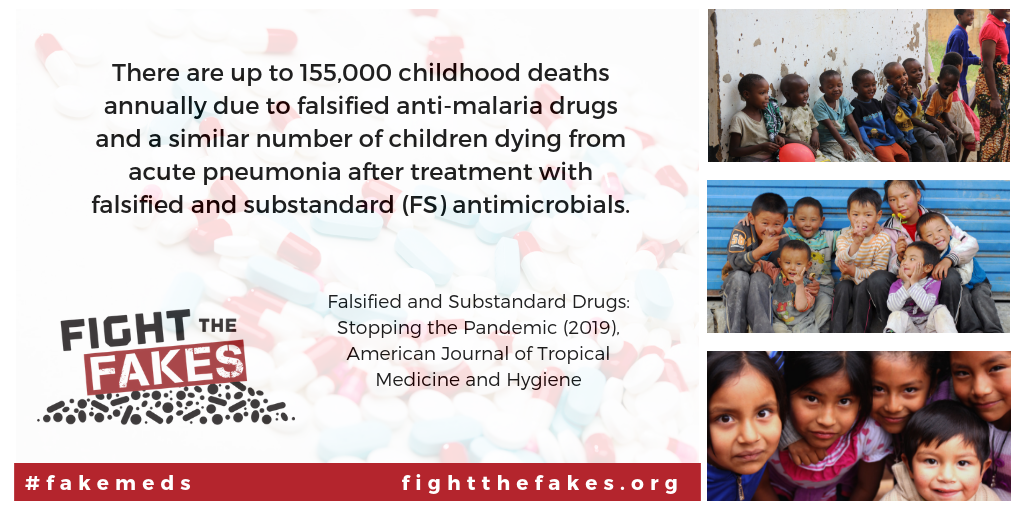 Fight the Fakes recognised as global player in the fight against #fakemeds in new review article!