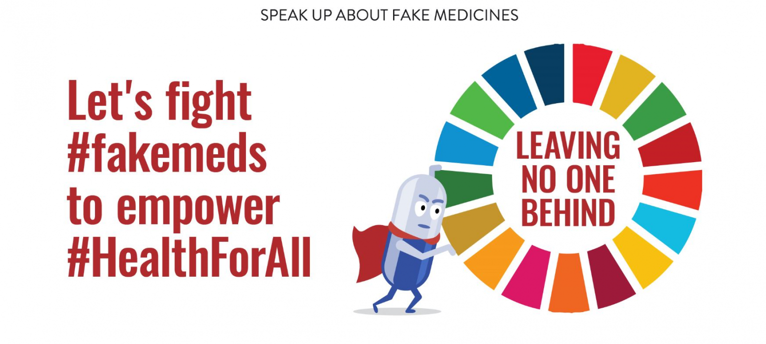 Achieving UHC by 2030 requires fighting #fakemeds