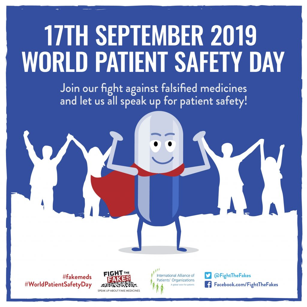Call to action for the first ever World Patient Safety Day this 17 September
