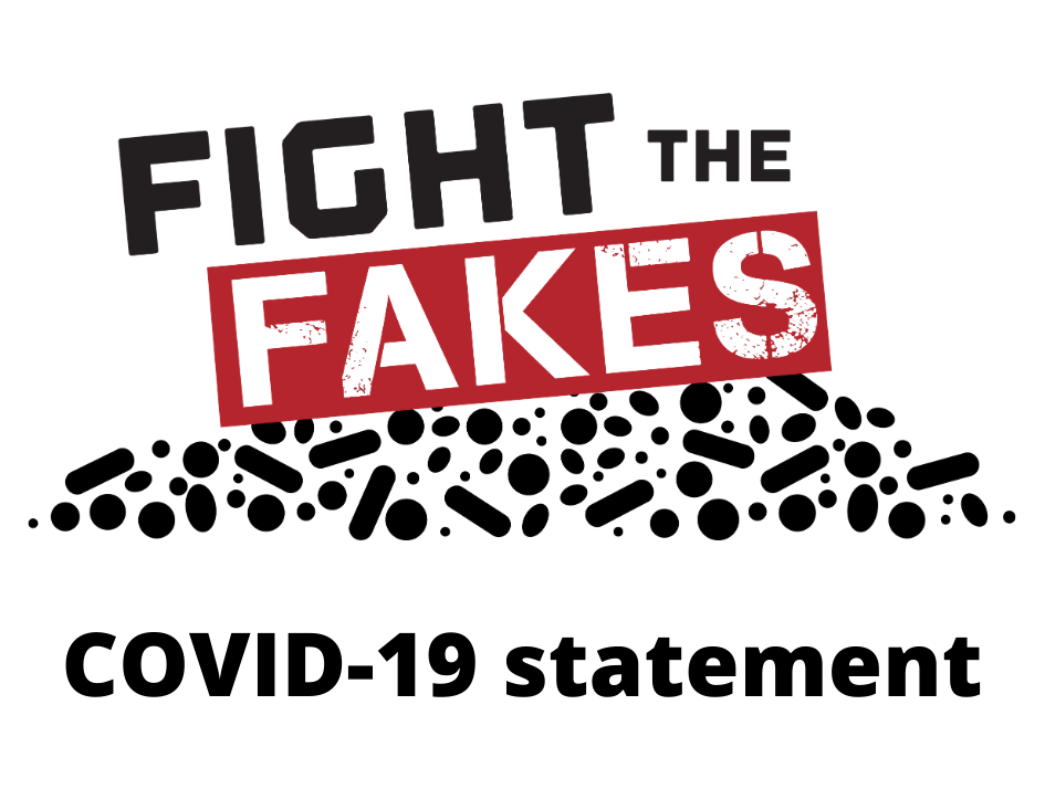Fight the Fakes official statement to COVID-19