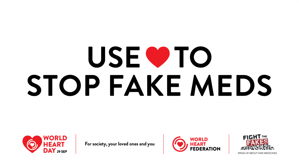Fight The Fakes partners with the World Heart Federation to Use Heart to Beat #CVD